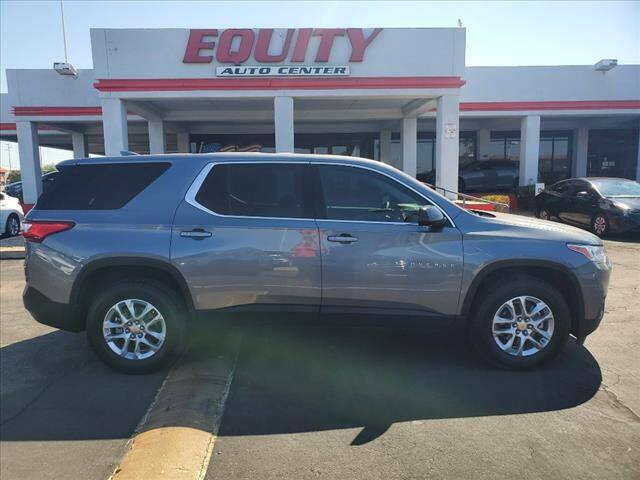 2020 Chevrolet Traverse for sale at EQUITY AUTO CENTER in Phoenix AZ