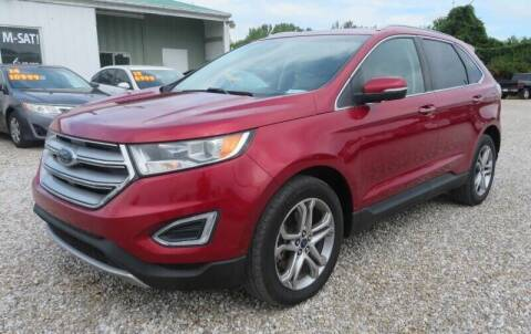 2015 Ford Edge for sale at Low Cost Cars North in Whitehall OH