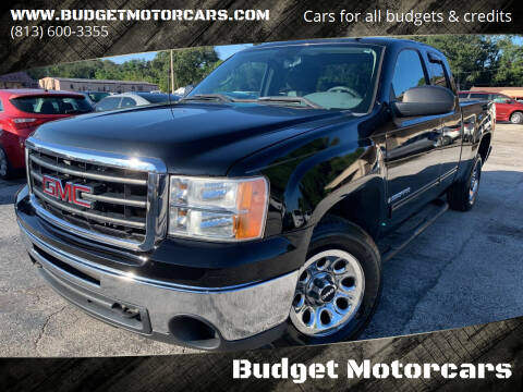2009 GMC Sierra 1500 for sale at Budget Motorcars in Tampa FL