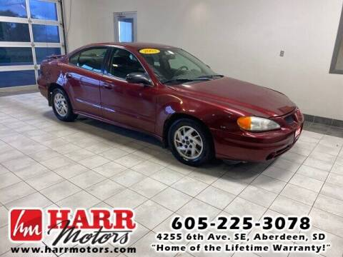 2003 Pontiac Grand Am for sale at Harr's Redfield Ford in Redfield SD