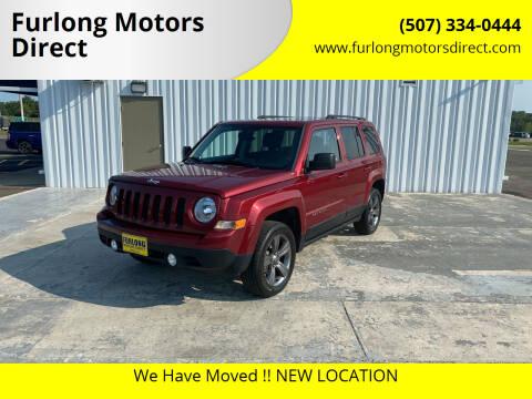2015 Jeep Patriot for sale at Furlong Motors Direct in Faribault MN
