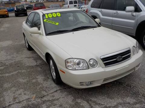 2005 Kia Optima for sale at SEBASTIAN AUTO SALES INC. in Terre Haute IN