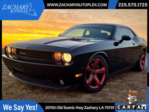 2014 Dodge Challenger for sale at Auto Group South in Natchez MS