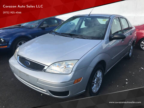 2006 Ford Focus for sale at Corazon Auto Sales LLC in Paterson NJ