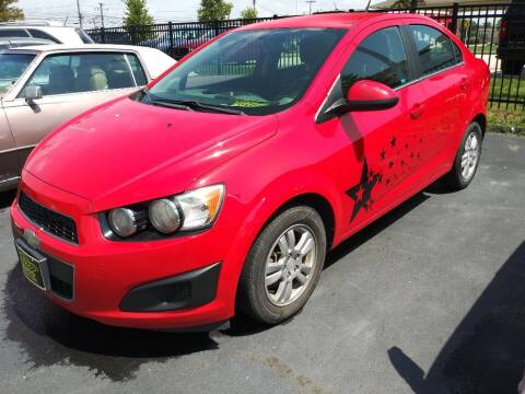 2014 Chevrolet Sonic for sale at ENZO AUTO in Parma OH
