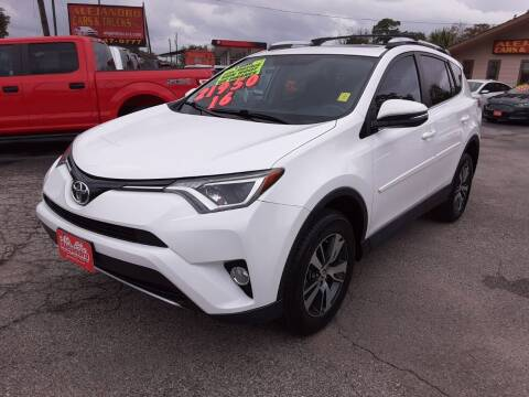 2016 Toyota RAV4 for sale at Alejandro Cars & Trucks in Houston TX