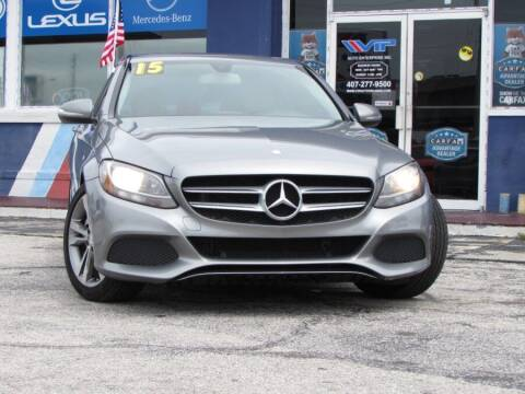 2015 Mercedes-Benz C-Class for sale at VIP AUTO ENTERPRISE INC. in Orlando FL
