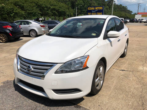 2014 Nissan Sentra for sale at Oceana Motors in Virginia Beach VA