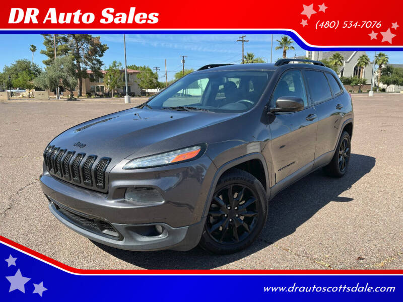 2014 Jeep Cherokee for sale at DR Auto Sales in Scottsdale AZ
