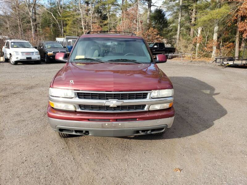 2002 Chevrolet Tahoe for sale at 1st Priority Autos in Middleborough MA