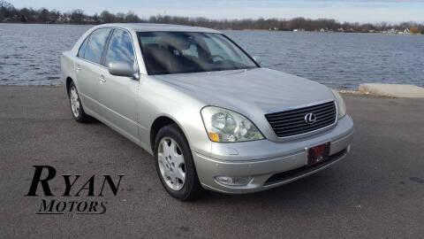 2002 Lexus LS 430 for sale at Ryan Motors LLC in Warsaw IN