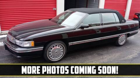 1996 Cadillac DeVille for sale at UNIQUE SPECIALTY & CLASSICS in Mankato MN