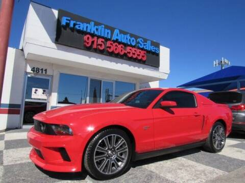 2010 Ford Mustang for sale at Franklin Auto Sales in El Paso TX