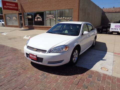 2016 Chevrolet Impala Limited for sale at Rediger Automotive in Milford NE