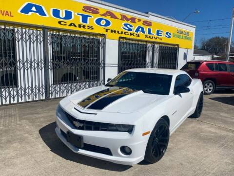 2011 Chevrolet Camaro for sale at Sam's Auto Sales in Houston TX