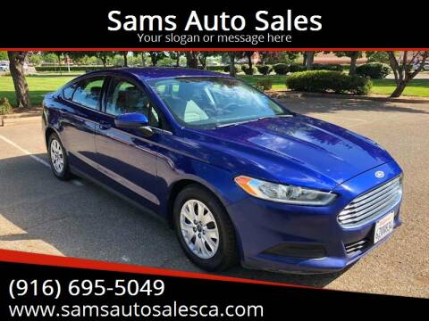 2013 Ford Fusion for sale at Sams Auto Sales in North Highlands CA