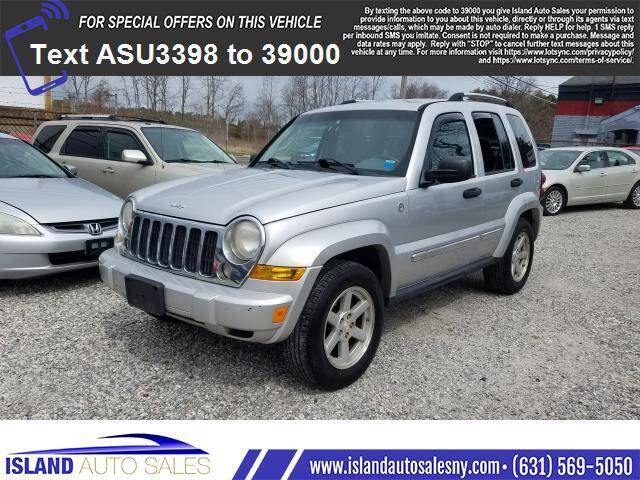 2007 Jeep Liberty for sale at Island Auto Sales in E.Patchogue NY