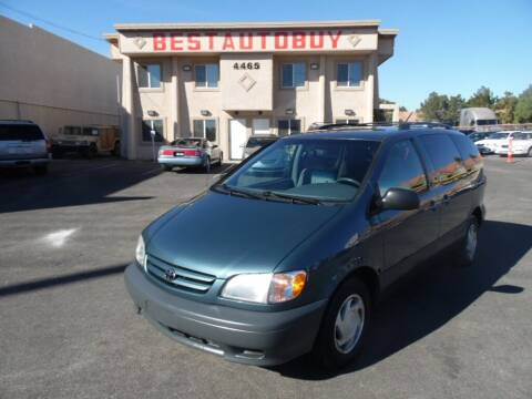 2001 Toyota Sienna for sale at Best Auto Buy in Las Vegas NV
