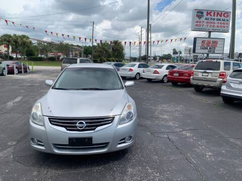 2012 Nissan Altima for sale at King Auto Deals in Longwood FL