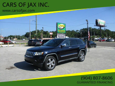 2011 Jeep Grand Cherokee for sale at CARS OF JAX INC. in Jacksonville FL