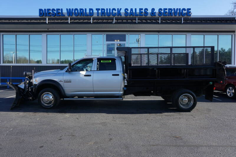 2016 RAM Ram Chassis 5500 for sale at Diesel World Truck Sales in Plaistow NH