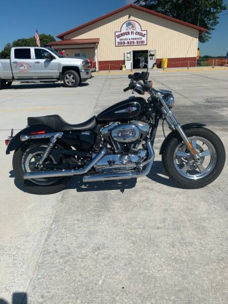 2012 Harley-Davidson Sportster for sale at SEMPER FI CYCLE in Tremont IL