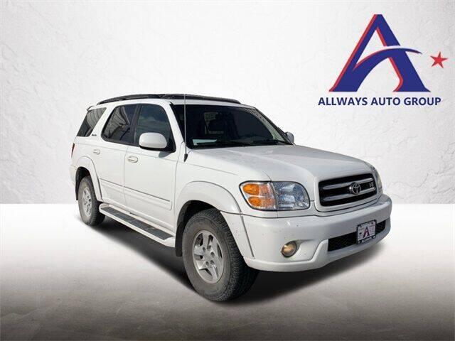 2002 Toyota Sequoia for sale at ATASCOSA CHRYSLER DODGE JEEP RAM in Pleasanton TX