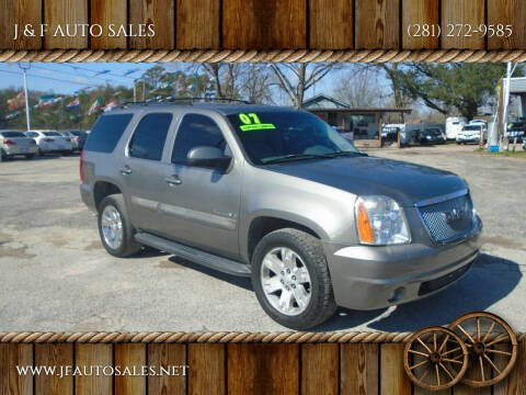 2007 GMC Yukon for sale at J & F AUTO SALES in Houston TX