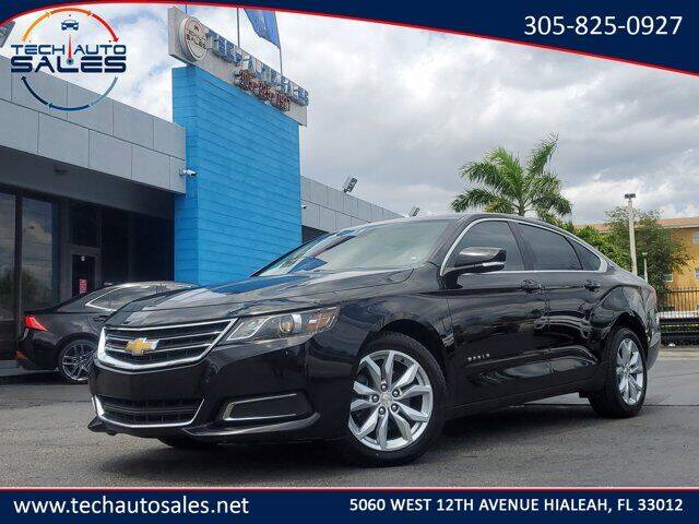 2017 Chevrolet Impala for sale at Tech Auto Sales in Hialeah FL