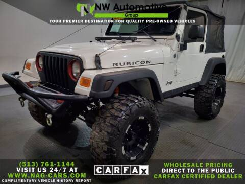 2006 Jeep Wrangler for sale at NW Automotive Group in Cincinnati OH