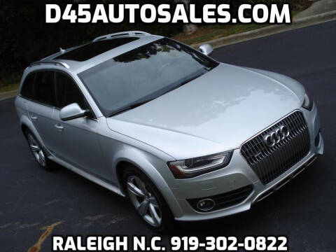 2013 Audi Allroad for sale at D45 Auto Brokers in Raleigh NC