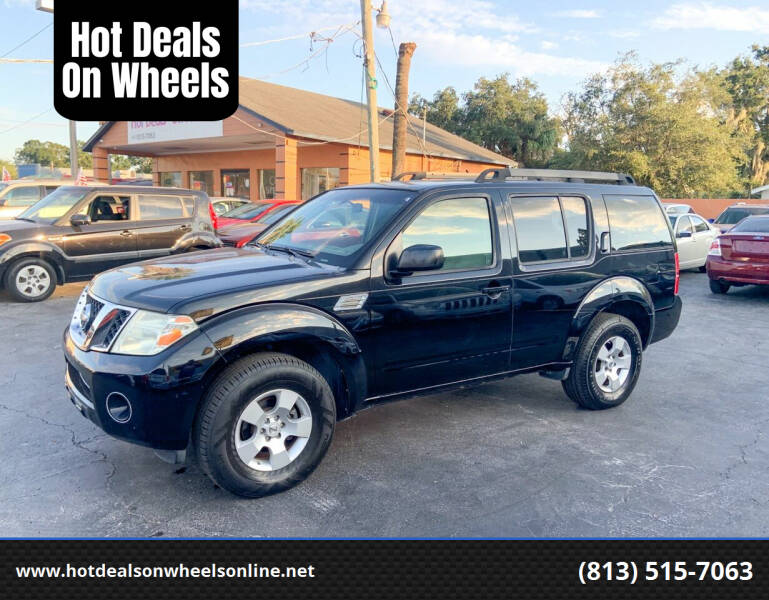 2008 Nissan Pathfinder for sale at Hot Deals On Wheels in Tampa FL