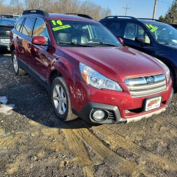 2014 Subaru Outback for sale at ALL WHEELS DRIVEN in Wellsboro PA