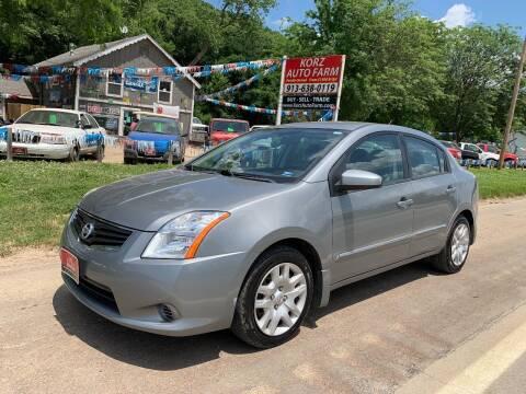 2012 Nissan Sentra for sale at Korz Auto Farm in Kansas City KS