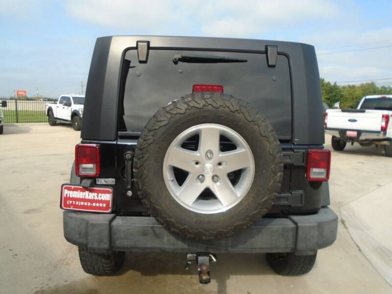 2008 Jeep Wrangler Unlimited 4x4 Rubicon 4dr SUV w/Side Airbag Package - Houston TX
