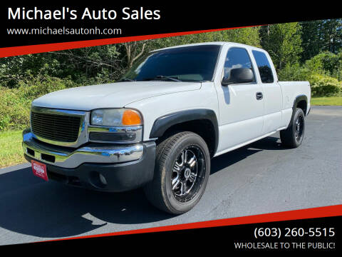 2003 GMC Sierra 1500 for sale at Michael's Auto Sales in Derry NH