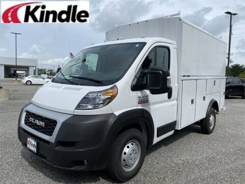 2021 RAM ProMaster Cutaway Chassis for sale at Kindle Auto Plaza in Cape May Court House NJ