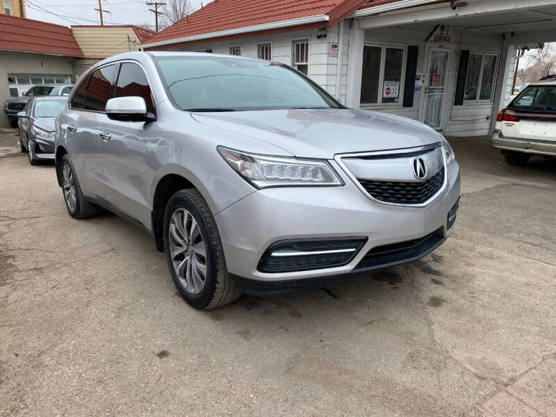 2014 Acura MDX for sale at STS Automotive in Denver CO