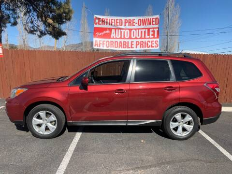 2015 Subaru Forester for sale at Flagstaff Auto Outlet in Flagstaff AZ