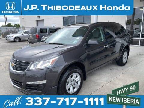 2017 Chevrolet Traverse for sale at J P Thibodeaux Used Cars in New Iberia LA