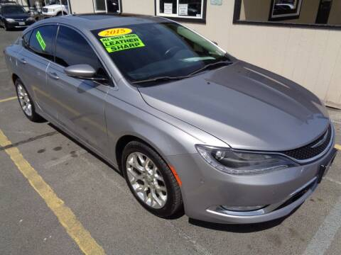 2015 Chrysler 200 for sale at BBL Auto Sales in Yakima WA
