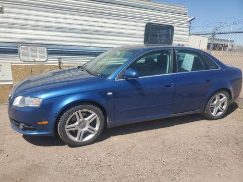 2008 Audi A4 for sale at PYRAMID MOTORS - Fountain Lot in Fountain CO
