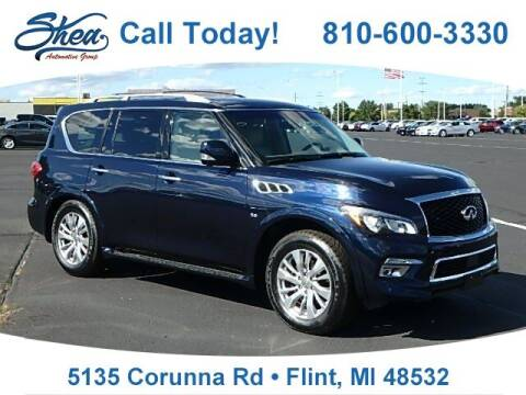 2017 Infiniti QX80 for sale at Jamie Sells Cars 810 in Flint MI