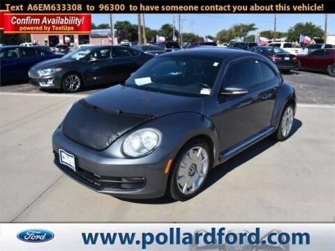 2014 Volkswagen Beetle for sale at South Plains Autoplex by RANDY BUCHANAN in Lubbock TX