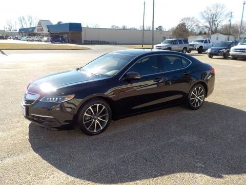2015 Acura TLX for sale at Young's Motor Company Inc. in Benson NC