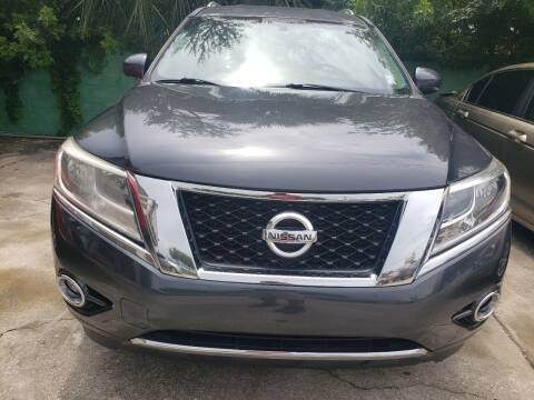 2014 Nissan Pathfinder for sale at Track One Auto Sales in Orlando FL
