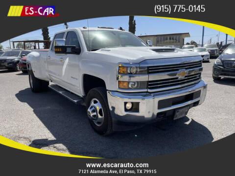 2018 Chevrolet Silverado 3500HD for sale at Escar Auto in El Paso TX