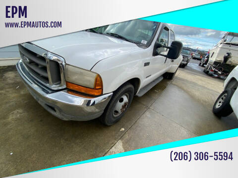 1999 Ford F-350 Super Duty for sale at EPM in Auburn WA