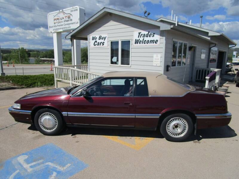 used 1992 cadillac eldorado for sale carsforsale com used 1992 cadillac eldorado for sale