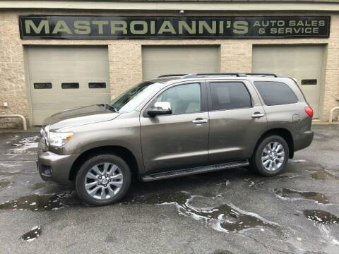 2011 Toyota Sequoia for sale at Mastroianni Auto Sales in Palmer MA